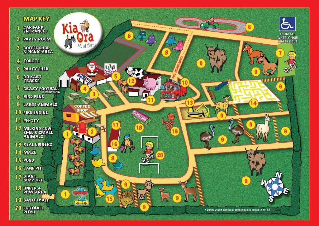 kia-ora-mini-farm Layout