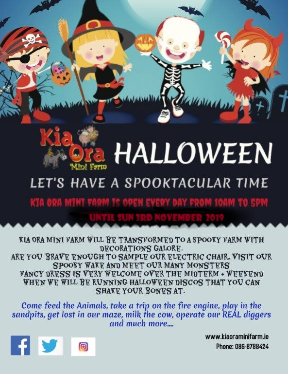 halloween-events-kia ora mini farm-gorey-wexford